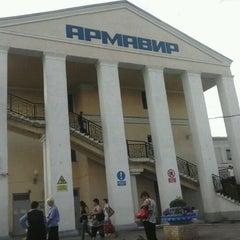 Foto tirada no(a) ж/д вокзал армавир-1 (армавир-ростовский) por nikolina l em 5/9/2013