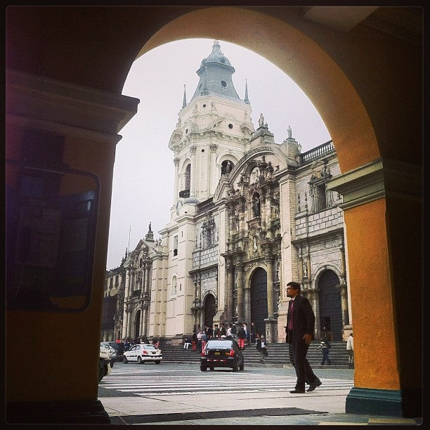 @allantd Allan Tito just checked in @ Iglesia Basílica Catedral Metropolitana de Lima (Cercado de Lima, Peru)