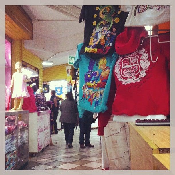 @allantd Allan Tito just checked in @ Gamarra (Lima, Peru)