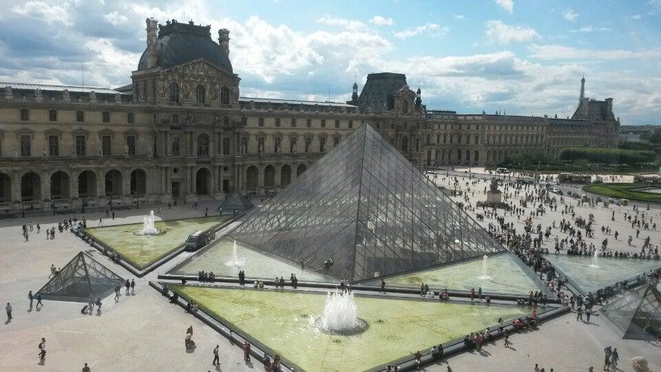 Natascia just checked in @ Musée du Louvre (Paris, France)