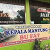 Foto Wr Makan Kepala Manyung,Bu Fat, Semarang