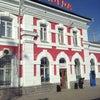 Фото Железнодорожный вокзал г. Вологда