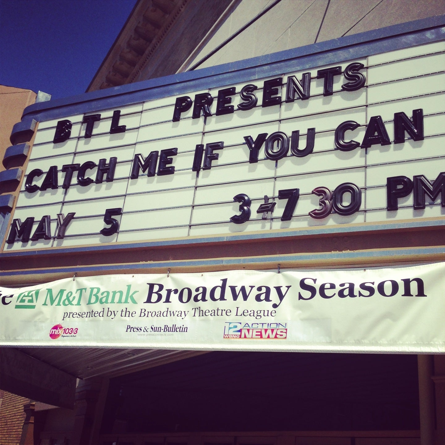 Check out Binghamton's Restaurant Week! and many more! Local Sports. Binghamton Mets Binghamton Senators. Art Galleries. The Bundy Museum Jungle Science Roberson Museum Cooperative Gallery First Friday on Gorgeous Washington Street Broome County Arts Council. Where to Watch. Art Mission Theatre AMC Theatre Regal Cinema Bundy Museum - Cult.
