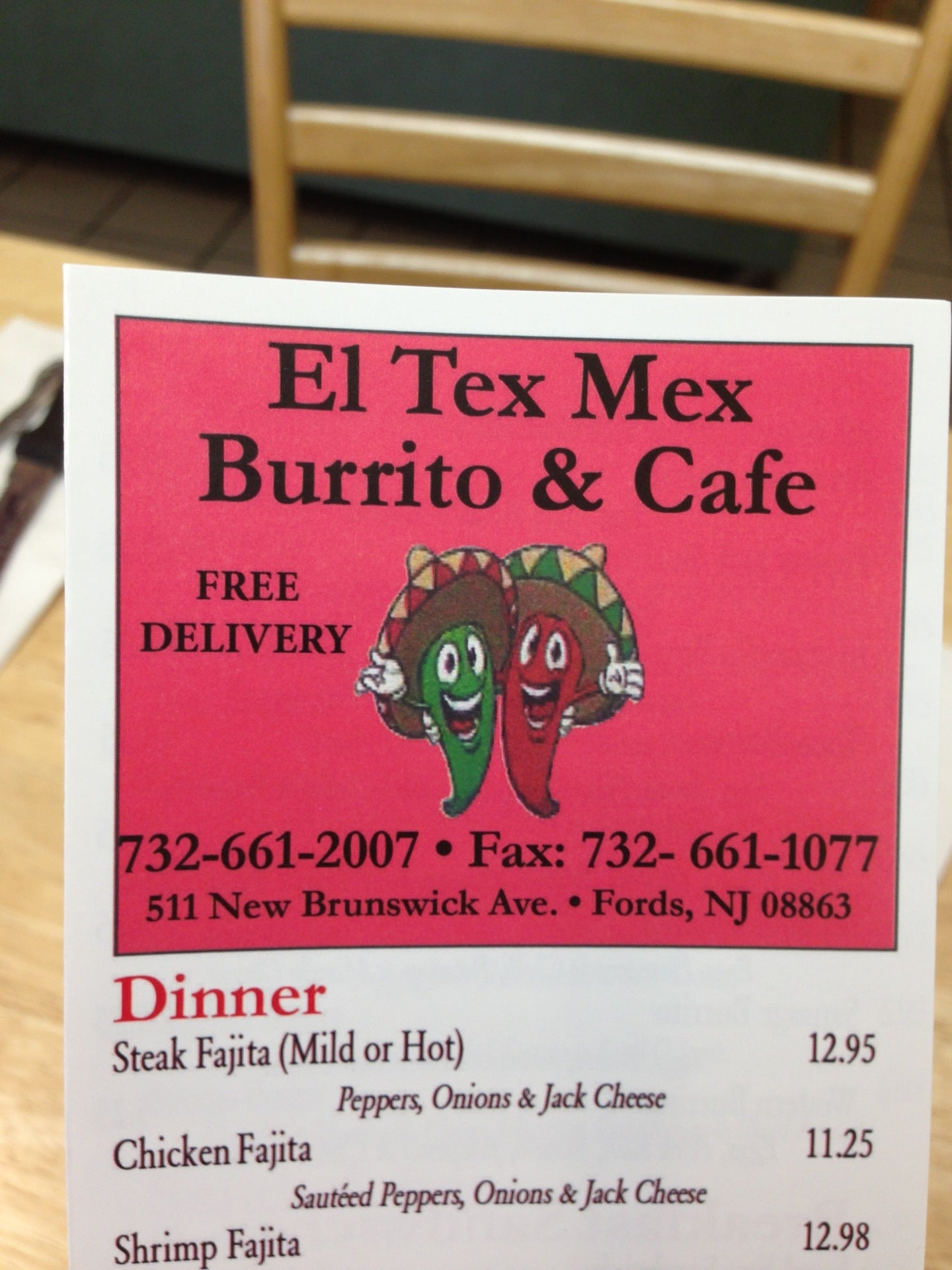 Tex Mex Burrito Cafe