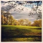 Photo taken at Highbridge Park by Joel M. on 11/3/2012