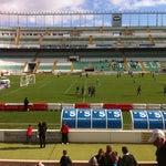 Photo taken at Estadio Manuel Martínez Valero by Ramon A. on 12/9/2012