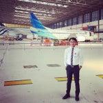 Photo taken at GMF AeroAsia by Febri P. on 9/19/2014