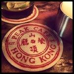 Photo taken at Peak Café & Bar 山頂餐廳酒吧 by Patty L. on 4/19/2013