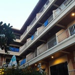 Photo taken at Seven Seas Hotel Phuket by Ken W. on 5/5/2014