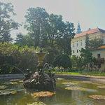 Photo taken at Andělská fontána by Jaroslav P. on 9/5/2014