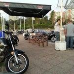 Photo taken at Estación ANCAP by Flavio B. on 12/21/2012