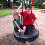 Photo taken at Whistle Stop Park by Christy G. on 7/2/2013