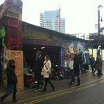 Photo taken at Brick Lane by Steven V. on 4/13/2013