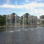 Photo taken at Parque Centenario by Verónica on 6/1/2013