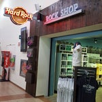 Hard Rock Cafe fan? Visit the Rock Shop behind security to buy your souvenir t-shirt or glass.