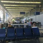 The area just past the kids' playground between terminals 2 and 3 is the best spot for charging laptops, phones, and getting work done. Very quiet and peaceful, away from the crowds.