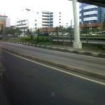 Photo taken at Jalan MT Haryono by fendy on 1/26/2013