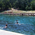 Photo taken at Barton Springs Pool by Shogo K. on 8/4/2012