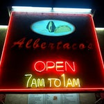 Photo taken at Albertaco's Mexican Food Inc. by Stephen T. on 10/16/2011
