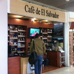 El Salvador coffee is a great gift to take back from your trip.  You can pick up coffee at Cafe de El Salvador which is located between gates 6 and 7.