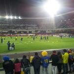 Photo taken at Estádio D. Afonso Henriques by Rafael E. on 2/6/2013