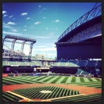 Photo taken at Safeco Field by Mike B. on 6/28/2013
