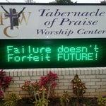 Photo taken at Tabernacle of Praise Worship Center by Gavora J. on 11/3/2013