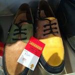 Photo taken at John Fluevog Shoes by Anirut A. on 1/25/2012