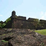 Photo taken at Chapora Fort by Raahul N. on 11/24/2012