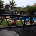 Photo taken at Pousada Villa Paradiso by Fabiana R. on 10/25/2014