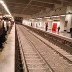 Photo taken at Metro Ermita (Líneas 2 y 12) by Rafael V. on 10/31/2012