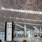 The new airport is very clean and posh! Very spacious and not at all crowded.