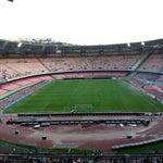 Photo taken at Stadio San Paolo by Antonino D. on 9/20/2012