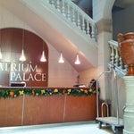 Photo taken at Hotel Acta Atrium Palace by Сергей Л. on 11/22/2012