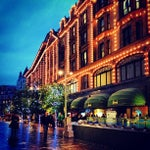 Photo taken at Harrods by Ahmed A. on 11/6/2012