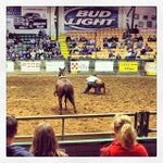 Photo taken at Stockyards Arena & Stables by Amarit C. on 12/14/2013