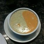 Photo taken at La Bonne Soupe Cafe by Edward S. on 11/20/2012