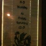 Photo taken at La Bonne Soupe Cafe by Edward S. on 11/5/2012