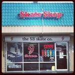 Photo taken at the SB skate co. by Brett G. on 11/7/2012
