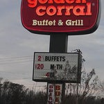 Photo taken at Golden Corral by Tony A. on 1/20/2012