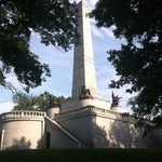 Photo taken at Lincoln Tomb State Historic Site by Karen on 8/16/2013