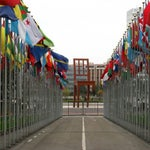 Photo taken at Palais des Nations by Andrey K. on 6/12/2013