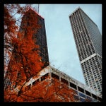 Photo taken at Water Tower Place by Bill H. on 10/26/2012