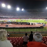 Photo taken at Stadio San Paolo by Tommaso C. on 10/7/2012