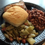 The Nashville airport gives you a taste of local food. Like this from Swett's. Not as good as the real deal but better than typical airport food