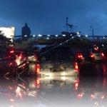 Photo taken at Jalan MT Haryono by Regina Diniary P. on 1/20/2014
