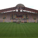 Photo taken at Stadio Nereo Rocco by Luka K. on 4/27/2013