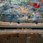 Photo taken at Palais des Nations by Oriol F. on 5/20/2013