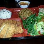 Photo taken at Bento Cafe by Pallami B. on 12/5/2012
