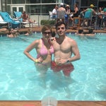 Photo taken at Water Club Pool by Alycia C. on 6/28/2014